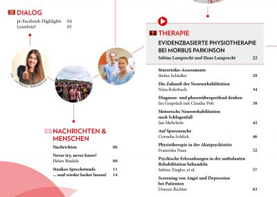 Therapie bei M. Parkinson PT - Mai 2018