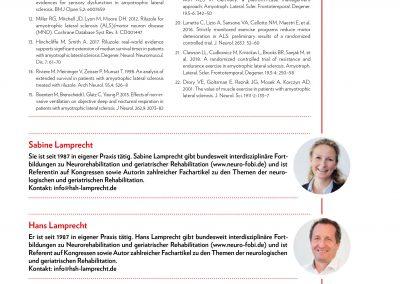 Amyotrophe Lateralsklerose PT - April 2020