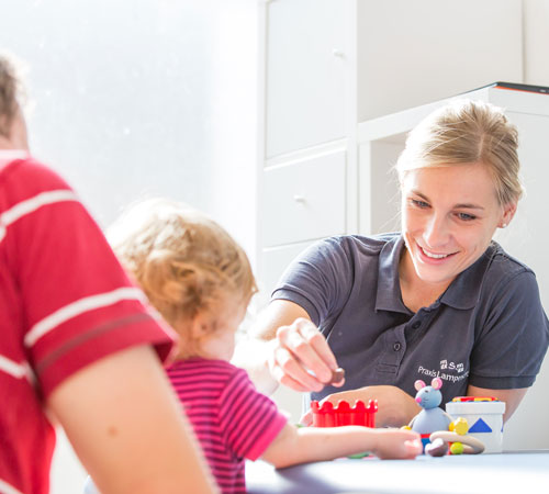 Kinder- und Säuglingstherapie